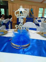 royal prince baby shower theme the table in the back ground prince babies