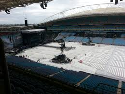 Anz Stadium Floor Plan Concert Seating At Stadium Australia Anz Olympic 2015 Sydney