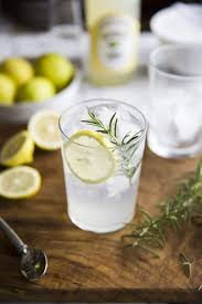vodka tonic lemon gin u0026 tonic with lemon cordial u0026 rosemary recipe drizzle and dip
