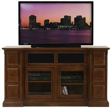 Corner Tv Cabinets For Flat Screens With Doors by Tv Stands Furniture Brown Wooden Corner Tv Stand With Double