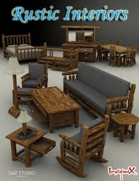 Rustic Interiors by Rustic Interiors 3d Models And 3d Software By Daz 3d