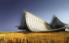 tetto padiglione i tetti di pechino le montagne il progettista yichen lu racconta