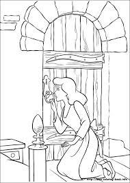coloring pages disney cinderella disney coloring club