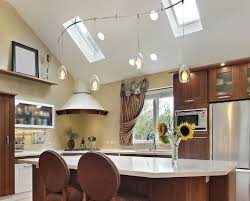 kitchen lighting ideas vaulted ceiling adorable lighting for vaulted kitchen ceiling and best 10 vaulted