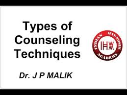 Counselling Skills And Techniques Types Of Counseling Techniques