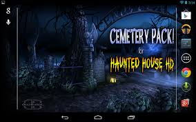 halloween note 7 background haunted house hd android apps on google play