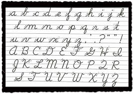 how to write i in cursive is cursive writing a thing of the past