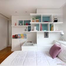 Uma Floor L Quarto Menina L Marcenaria Aproveitando Perfeitamente O Design Do