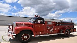 this vintage fire truck could be yours courtesy of bring a