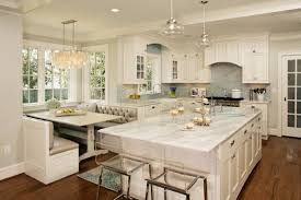 kitchen ceramic tile floor white kitchen cabinet black wooden