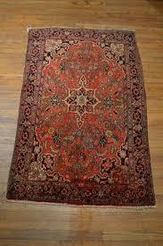 antique persian rug vintage oriental rug by oakparkantiques