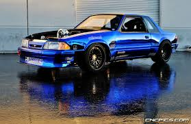 fox mustang drag car build creations n chrome build a fox that lives up to it s title