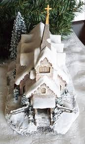 amazon com thomas kinkade hawthorne village light of hope church