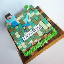 heavenly d u0027lights minecraft cake for timothy u0027s birthday