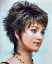 google short shaggy style hair cut short shaggy hair style to various length at the top and sides