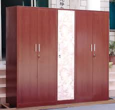 clothes cupboard steel furniture transfer printing cabinet wood grain cabinet