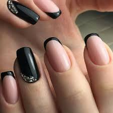 best 25 black french manicure ideas on pinterest matte black