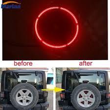 jeep wrangler third brake light spare tire led third brake light for jeep wrangler 2007 2016 in car