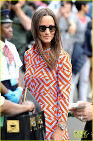 pippa middleton takes in some tennis at wimbledon photo 3699342