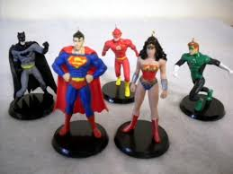 marvel justice league ornament set ornaments