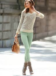 Mint Colored Skinny Jeans 42 Best How To Wear Color Skinny Jeans Images On Pinterest Style