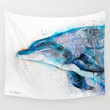 Dolphin Rugs Dolphin Wall Tapestries Society6
