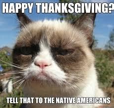 Thanksgiving Cat Meme - grumpy cat thanksgiving pics unhappy thanksgiving i heart grumpy