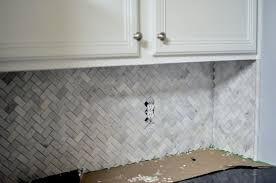 kitchen backsplash tiles toronto outstanding subway tile back splash in herringbone pattern simply
