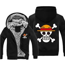 one piece sweatshirt japan anime coat luffy chopper print thicken