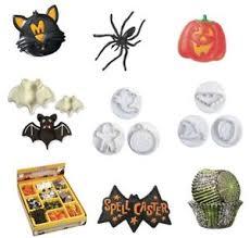 Halloween Cake Decorations Halloween Cake Decorations Picks Rings Cakecases Sugarpipings