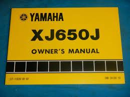 1982 82 yamaha xj650 xj 650 owner u0027s owner service manual u2022 cad