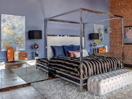 Mirrored Canopy Bed Photo Page Hgtv