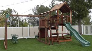 Backyard Playground Slides by Swing Set Assembly Los Angeles Swing Set Assembly Los Angeles