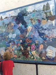 all things quilty and artsy under the sea at the mote aquarium