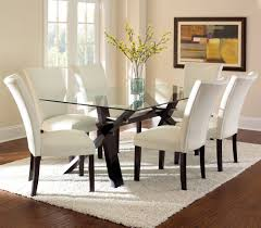 glass top dining room set piece beveled glass top dining set espresso dining table sets at