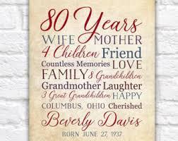 80 year birthday etsy