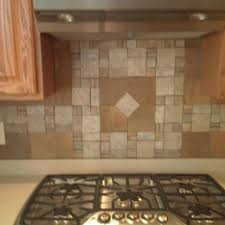 how to do subway tile backsplash stainless steel cabinet console