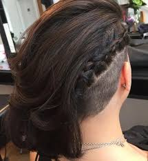 redhair nape shave 50 women s undercut hairstyles to make a real statement