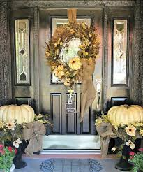 Front Porch Fall Decorating Ideas - 25 unique fall front door decorations ideas on pinterest front