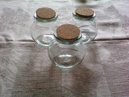 vasetti portaspezie portaspezie con tappo in sughero per la casa e per te decorare