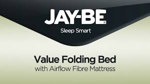 Jaybe Folding Bed Be Value Folding Bed With Airflow Fibre Mattress