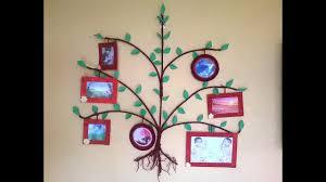 Wall Decoration At Home by Tree Photo Frame Diy How To Make Big Photo Frame At Home