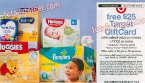 target black friday diaper 2017 get a free 25 target gift card with select baby purchase of 100