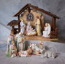home interiors nativity vintage home interiors nativity set with stable and animals