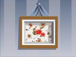 How To Hang A Picture Without Nails How To Make A Shadow Box Frame 11 Steps With Pictures Wikihow