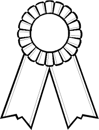 black and blue ribbon blue ribbon outline clipart clipart kid clipartix