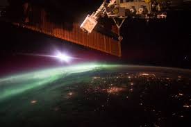 Solar Activity Northern Lights by Red Aurora Lights Up Maryland Sky Nasa