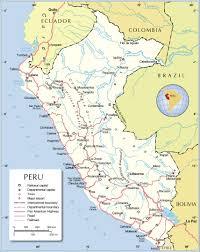 Lake Titicaca Map Maps Of Peru Bizbilla Com
