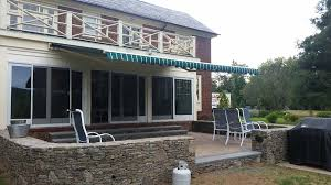 Wall Awning Retractable Awnings Ct Deck U0026 Patio Awnings Aladdin Inc