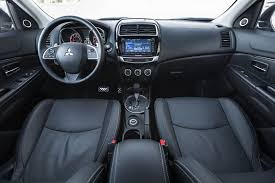 asx mitsubishi 2015 interior 2015 mitsubishi outlander sport 2 4 gt awc first test motor trend